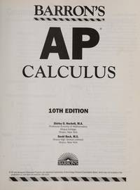 Barron's AP Calculus (Barron's: The Leader in Test Preparation)