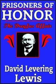 Prisoners of Honor: The Dreyfus Affair (Unabridged on Audio Cassette).
