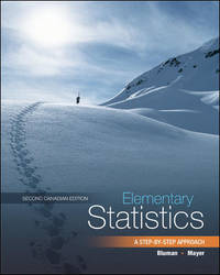 image of Elementary Statistics : A Step-by-Step Approach, w/Connect Access Card Second Canadian Edition