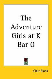 The Adventure Girls At K-Bar-O - the Adventure Girls Book