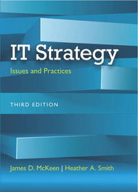 IT Strategy: Issues and Practices (3rd US Edition)
