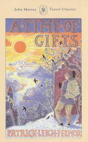 image of A Time of Gifts (John Murray Travel Classics)