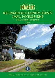 CONDE NAST JOHANSENS RECOMMENDED COUNTRY HOUSES, SMALL HOTELS AND INNS - GREAT BRITAIN AND...