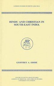 Hindu and Christian in South-East India