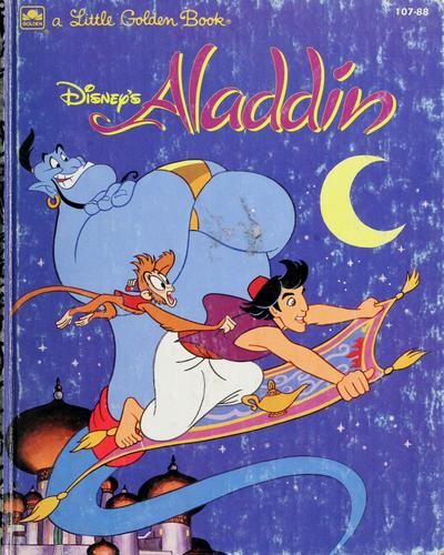 NEW Disney's Aladdin Little Library Mini Hardcover Books & Slipcase