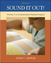 Sound It Out Phonics In a Comprehensive Reading System