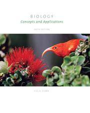 Biology: Concepts and Applications (Paperbound with CD-ROM, How Do I Prepare/vMentor, and...