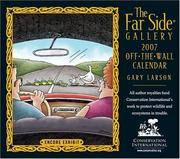 image of The Far Side Gallery: Off the Wall Calendar
