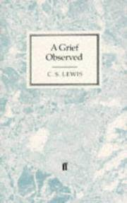 image of A Grief Observed (Faber Paperbacks)