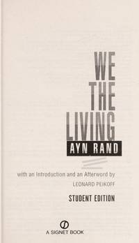 We The Living (Student Edition)