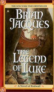 image of The Legend of Luke (Redwall, Book 12)