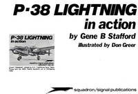 P-38 Lightning in Action - Aircraft No. 25