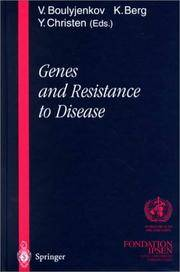 GENES AND RESISTANCE TO DISEASE