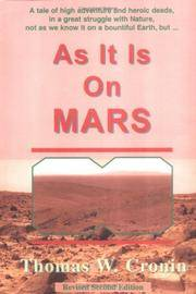 AS IT IS ON MARS; GIVE US THIS MARS; GLORY BE TO MARS - 3 Volumes