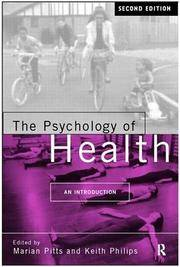 THE PSYCHOLOGY OF HEALTH AN INTRODUCTION