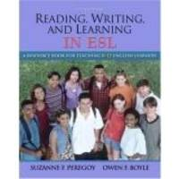 image of Reading, Writing and Learning in ESL: A Resource Book for Teaching K-12 English Learners (5th Edition)