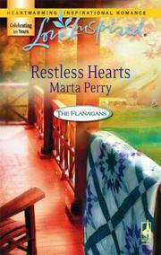 image of Restless Hearts (The Flanagans, Book 6) (Love Inspired #388)