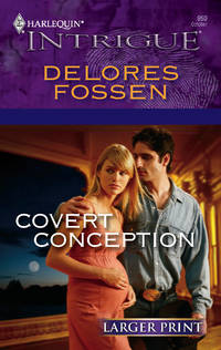 image of Covert Conception (Harlequin Large Print Intrigue)