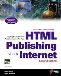 HTML Publishing on the Internet, Second Edition: Creating Great-Looking Documents Online: Home...