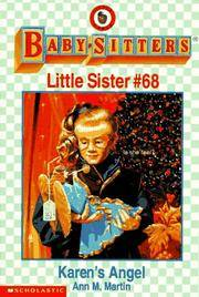 image of Karen's Angel : Baby-Sitters Little Sister #68