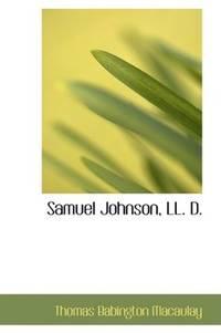 Samuel Johnson, Ll D