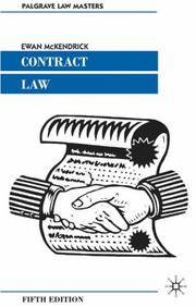 image of Contract Law