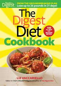 The Digest Diet Cookbook by  Liz Vaccariello - Hardcover - 2012 - from Russell Books Ltd and Biblio.com