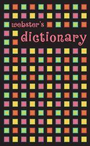 Webster's Dictionary (squares)