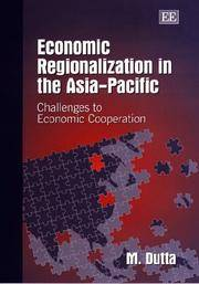 Economic Regionalization in the Asia-Pacific Challenges to Economic  Cooperation