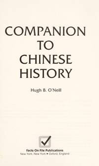 Companion to Chinese History