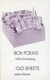 Box Poems / Old Sheets