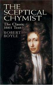 The Sceptical Chymist (Chemistry)