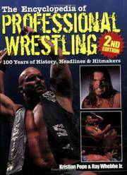 The Encyclopedia of Professional  Wrestling 2nd Edition