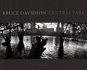 Bruce Davidson: Central Park by  Marie Winn Bruce Davidson - Hardcover - November 1995 - from Firefly Bookstore and Biblio.com