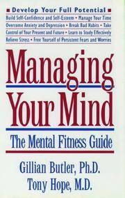 The Mental Fitness Guide (Oxford Paperbacks) [Feb 13, 1997] Butler, Gillian and Hope, Tony