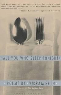 image of All You Who Sleep Tonight: Poems