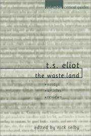 T S Eliot: The Waste Land