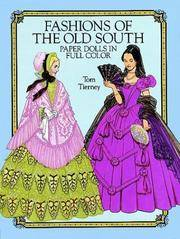 Fashions of the Old South Paper Dolls in Full Color