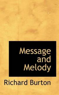 Message and Melody