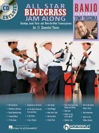 ALL STAR BLUEGRASS JAM-ALONG FOR BANJO BK/CD