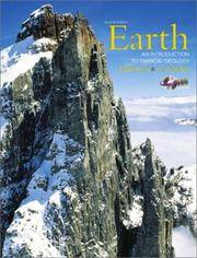 Earth: An Introduction to Physical Geology (With CD-ROM) by  Dennis  Frederick K.; Tasa - Paperback - 2002 - from Borgasorus Books, Inc and Biblio.com