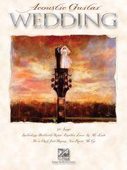 Acoustic Guitar Wedding by N - from Better World Books  and Biblio.com
