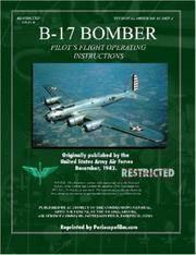 B-17 Bomber Pilots Flight Operating Manual
