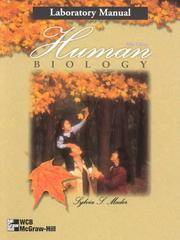 Human Biology: Laboratory Manual by Sylvia S. Mader - Paperback - 5th - 1999-09-01 - from Ergodebooks (SKU: DADAX0697278255)