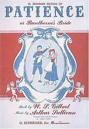 Patience or Bunthorne\'s Bride