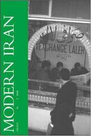 Modern Iran: A Volume in the Comparative Societies Series