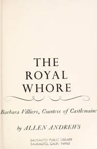 The Royal Whore, Barbara Villiers, Countess Of Castlemaine