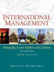 image of International Management: Managing Across Borders and Cultures (6th Edition)