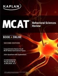 Kaplan MCAT Behavioral Sciences Review: Book + Online (Kaplan Test Prep)