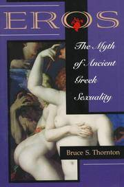 Eros the Myth of Ancient Greek Sexuality